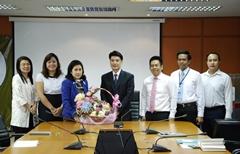 ประชุมต้อนรับ ผู้อำนวยการ สถาบันระหว่างประเทศเพื่อการค้าและการพัฒนา ท่านใหม่