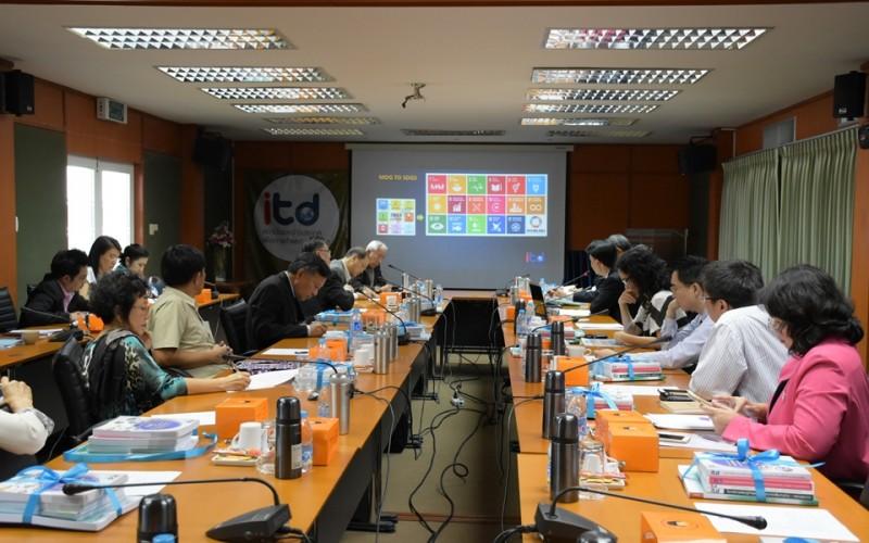 """ประชุมระดมความคิดเห็นเรื่อง """"Post-2015 Development Agenda: Challenges for Trade and Development"""""""