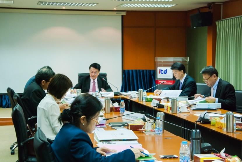 การประชุมคณะกรรมการสถาบันระหว่างประเทศเพื่อการค้าและการพัฒนา ครั้งที่5/2558