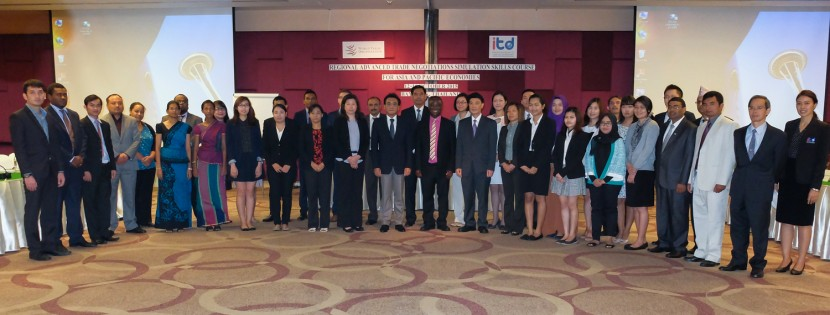 Regional ADVANCED TRADE NEGOTIATIONS SIMULATION SKILLS COURSE for Asia and Pacific Economies