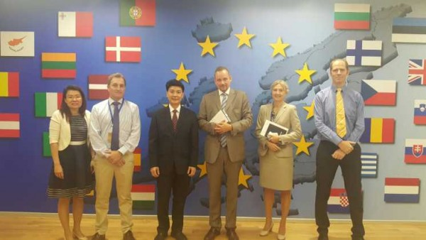 Creating opportunities for future cooperation with Delegation of the European Union in Thailand