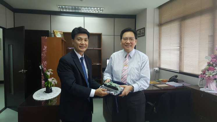 ITD tightens collaboration with Chulalongkorn University