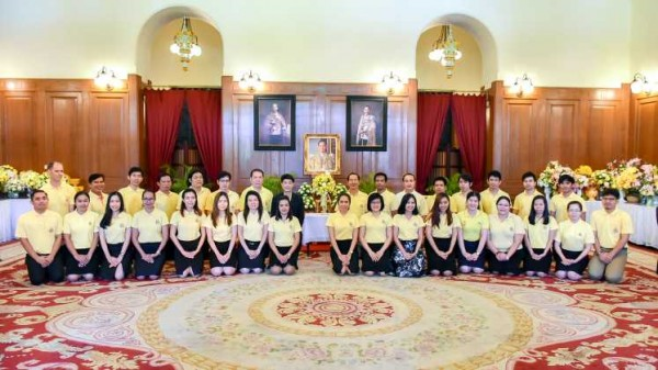 The executives and staffs of ITD bless to His Majesty the King