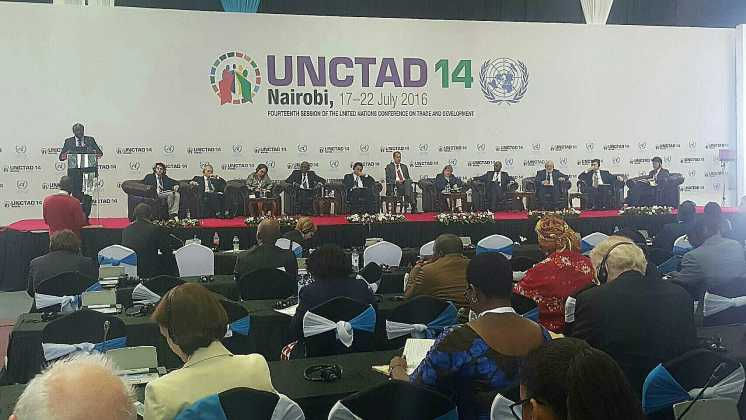The management of ITD attends the UNCTAD XIV's Meeting