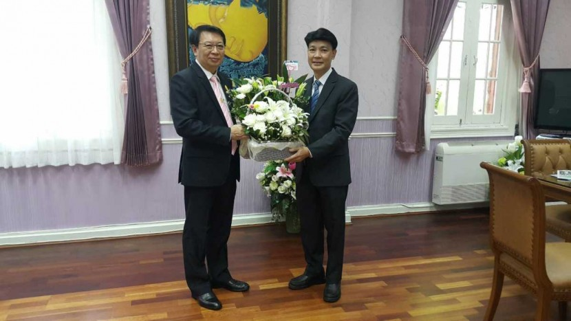 Director of ITD congratulates Permanent Secretary, Ministry of Education