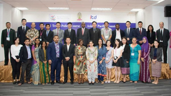 The Closing Ceremony of Regional Trade Policy Course for Asia and Pacific Countries (RTPC 2016) Training