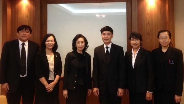 ผู้อำนวยการ ITD เข้าร่วมการประชุมหารือความร่วมมือกับสำนักงานที่ปรึกษากฎหมาย สำนักงานอัยการสูงสุด