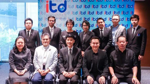 ผู้บริหารและเจ้าหน้าที่ ITD ร่วมฝึกอบรมเทคนิคการให้สัมภาษณ์กับสื่อมวลชน