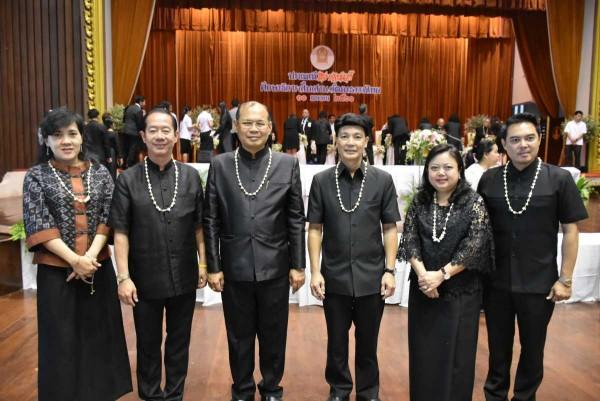 ผู้อำนวยการ ITD ร่วมงานประเพณีสงกรานต์ ศึกษาธิการสืบสานวัฒนธรรมไทย ประจำปี 2560