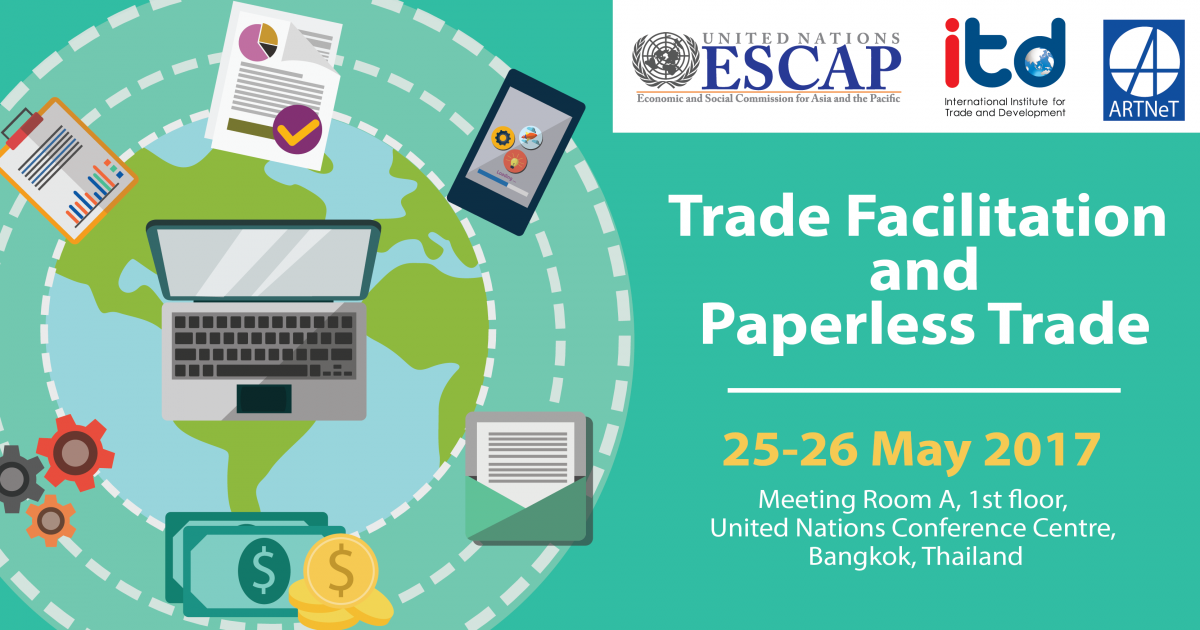 "TRAINING COURSE  ""TRADE FACILITATION AND PAPERLESS TRADE"""