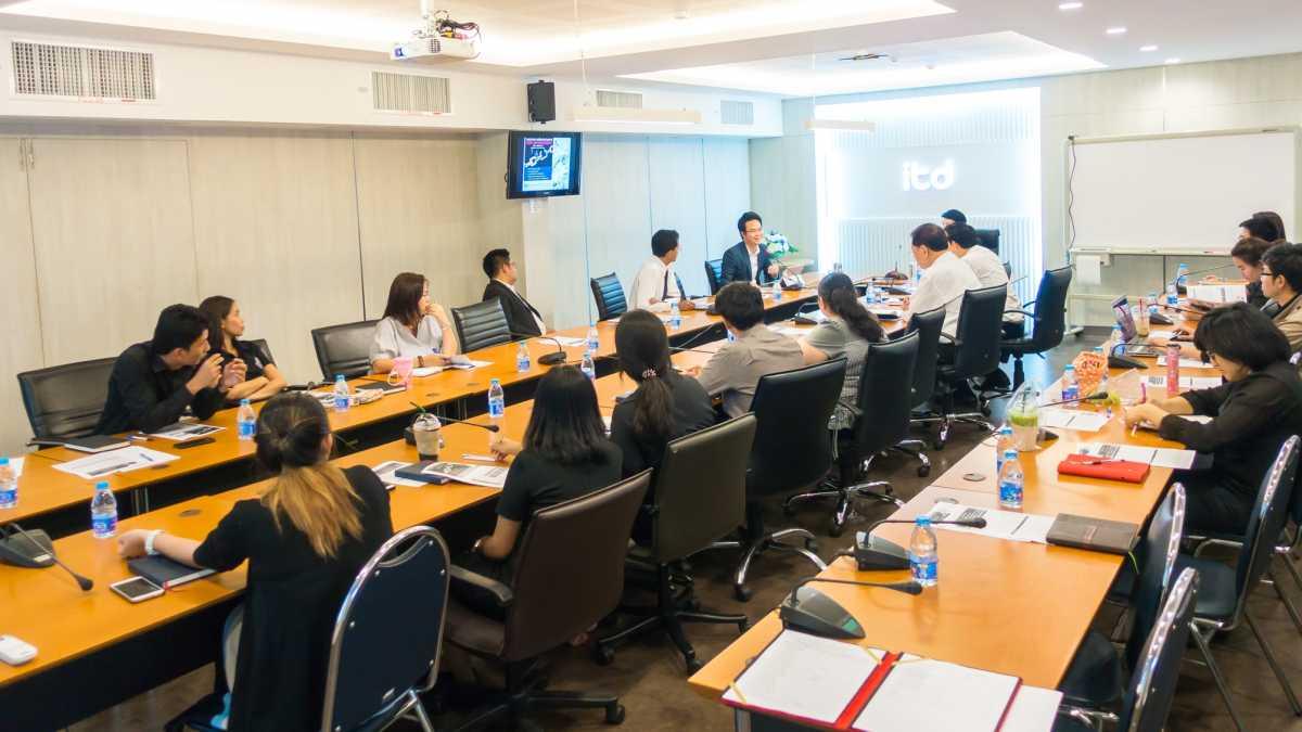 ผู้บริหารและเจ้าหน้าที่ ITD ร่วมฝึกอบรมการบริหารความเสี่ยงสำหรับองค์กร