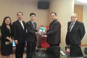 ผู้บริหาร ITD พบปะหารือกับประธานสภาหอการค้าแห่งประเทศไทย