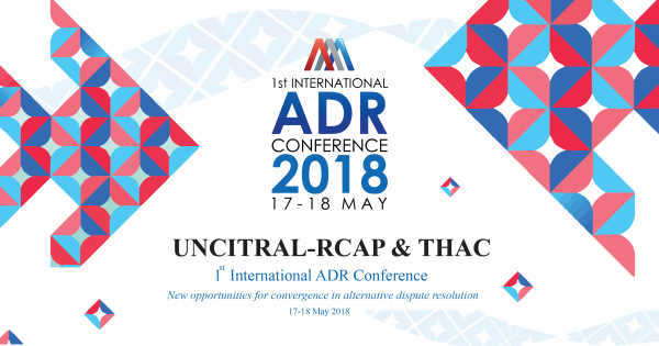 1st INTERNATIONAL ADR CONFERENCE 2018