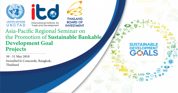 Regional Seminar on the Promotion of Bankable Sustainable Development Goal Projects
