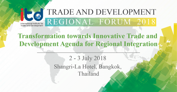 TRADE AND DEVELOPMENT REGIONAL FORUM 2018