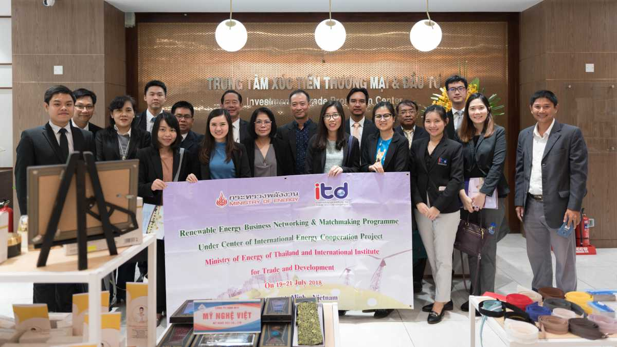 ITD จัดกิจกรรม Business Matching ที่ประเทศเวียดนาม