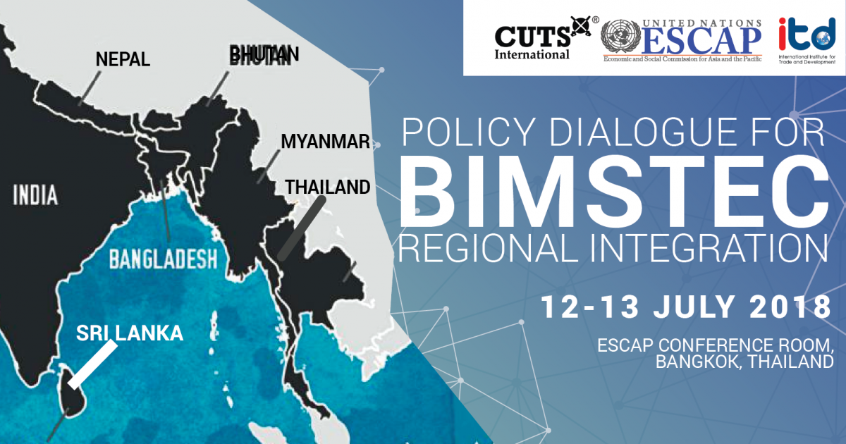 Regional Integration Development Programme Policy Dialogue on BIMSTEC Regional Integration