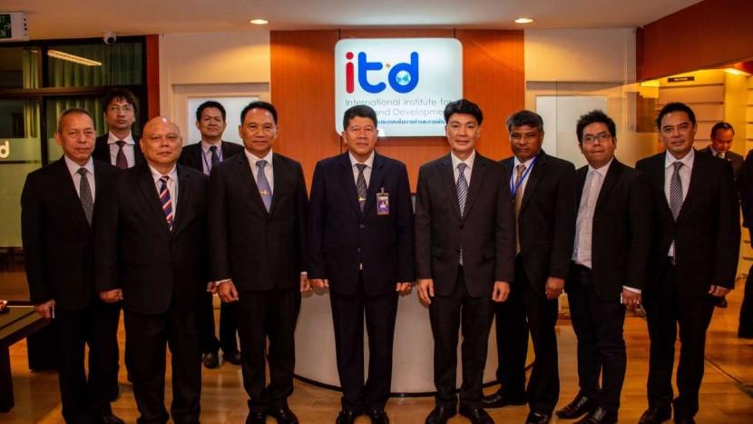 ข่าว ITD ร่วมประชุมหารือกับสภาความมั่นคงแห่งชาติ