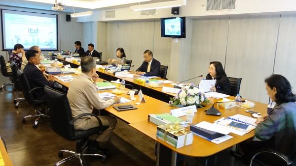 การประชุม คณะกรรมการสถาบันระหว่างประเทศเพื่อการค้าและการพัฒนา ครั้งที่ 1/2562