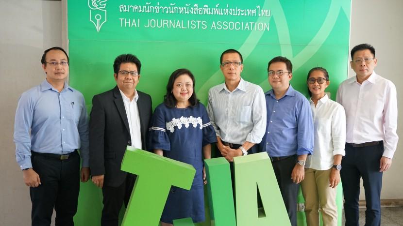 ผู้บริหาร ITD เข้าพบปะสมาคมนักข่าวนักหนังสือพิมพ์แห่งประเทศไทย