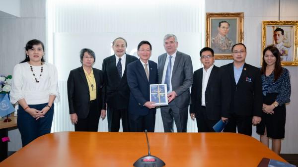 การประชุมเพื่อหารือความร่วมมือระหว่าง Embassy of Ireland และ ITD