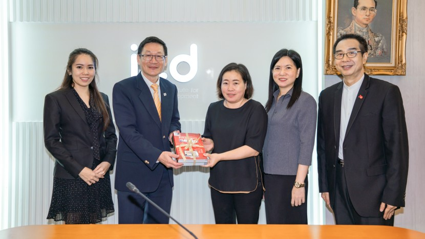 ผอ. ITD ต้อนรับผู้แทนกรมพาณิชย์ มณฑลกานซู่ ประจำประเทศไทย